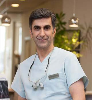 Photo of our Park Royal Dentist Dr. Farshad Fereidouni